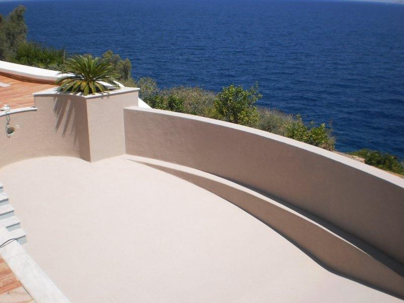 Micro cement coating system for pools